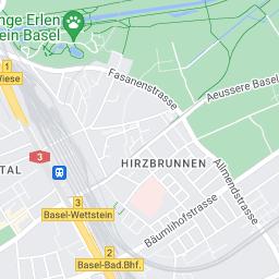 Hamburg Karte Sehenswurdigkeiten.Karte Basel Schweiz Basel Com